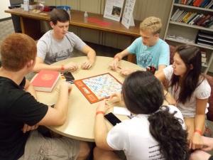 Tag-Team Scrabble