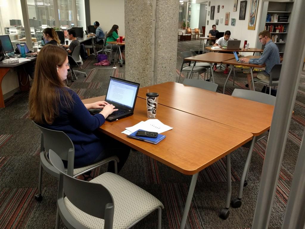Writing at the 2018 Dissertation Writing Retreat